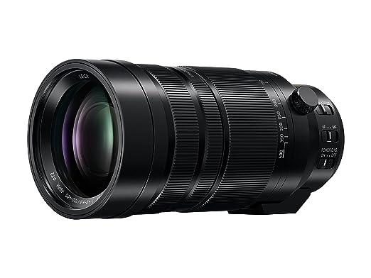 PANASONIC LUMIX G LEICA DG VARIO-ELMAR PROFESSIONAL LENS, 100-400MM, F4.0-6.3 ASPH., MIRRORLESS MICRO FOUR THIRDS, POWER OPTICAL I.S., H-RS100400 (USA BLACK) Camera Lenses at amazon