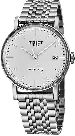 Tissot T109.407.11.031.00 - Reloj automático de Acero Inoxidable para Hombre, diseño