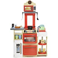 Little Tikes Cook 'N Store Kitchen Set, Red