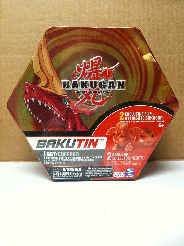 Bakugan Bakutin Pyrus Pyrus Pyrus (ROT) - Includes 2 Exclusive Flip Attribute Bakugan by Bakugan ae12e1