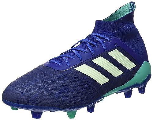 top fashion 5752d c4966 adidas Predator 18.1 Fg, Scarpe da Calcio Uomo, Blu (Uniink Aergrn