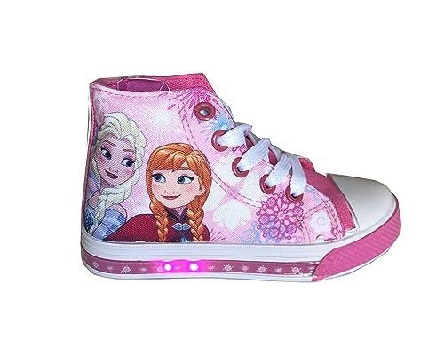 buy online de1c7 797ff Disney Frozen Scarpe Bimba a Collo Alto con luci Art.S19459 ...
