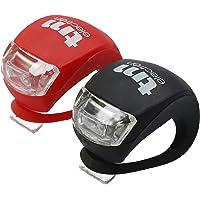 TM Electron TMTOR003 Waterdichte LED fietslampenset met 3 verschillende modi