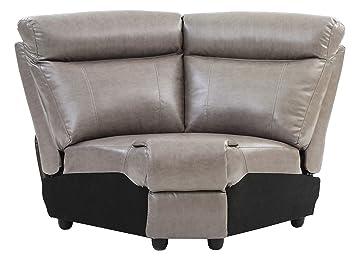 Amazon.com: Glory Furniture Ward G763B-W Cuña, Gris Muebles ...