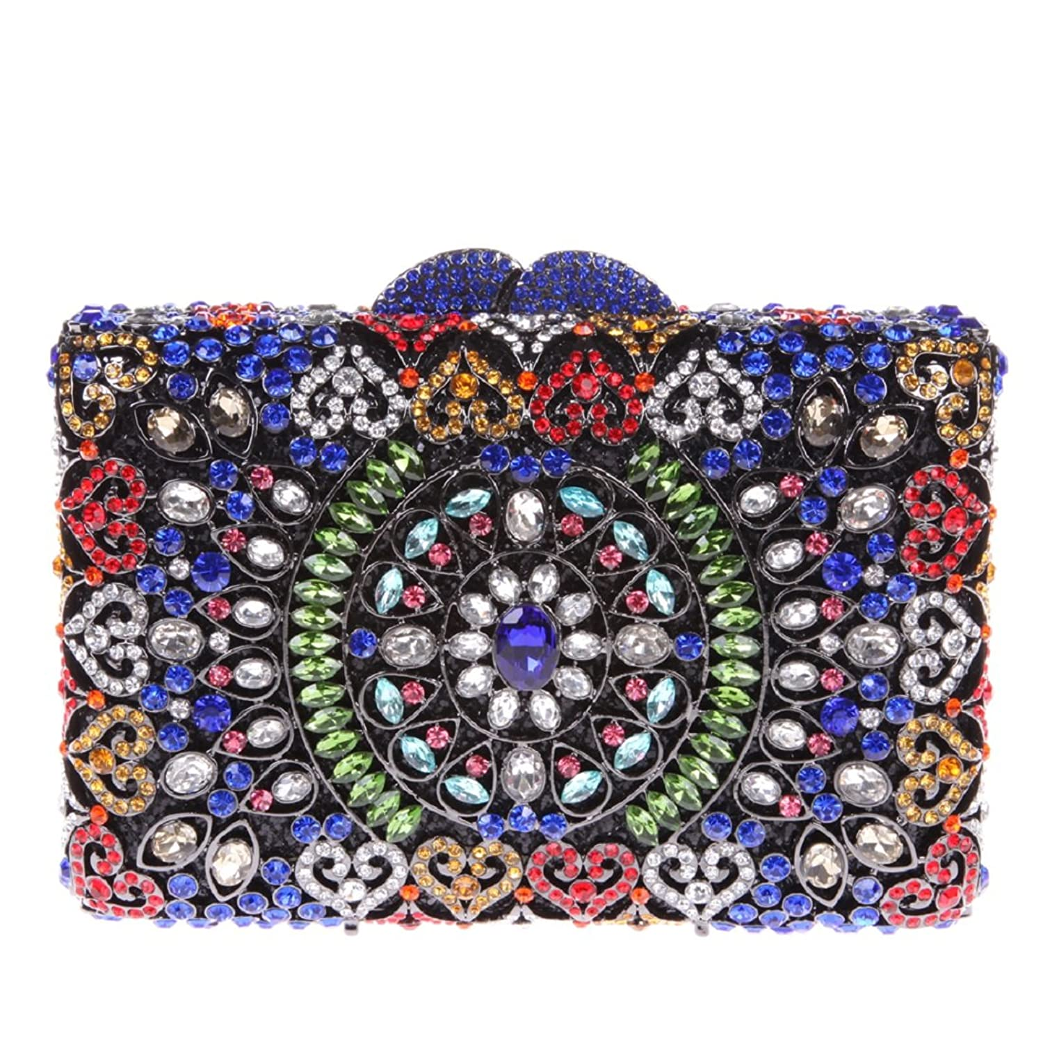 Floral Evening Clutches And Bags For Womens Party Clutch Purses