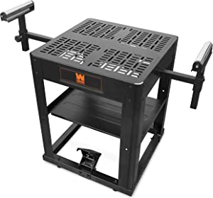 WEN MSA658 Multi-Purpose Rolling Planer and Miter Saw Tool Stand with Extension Rollers