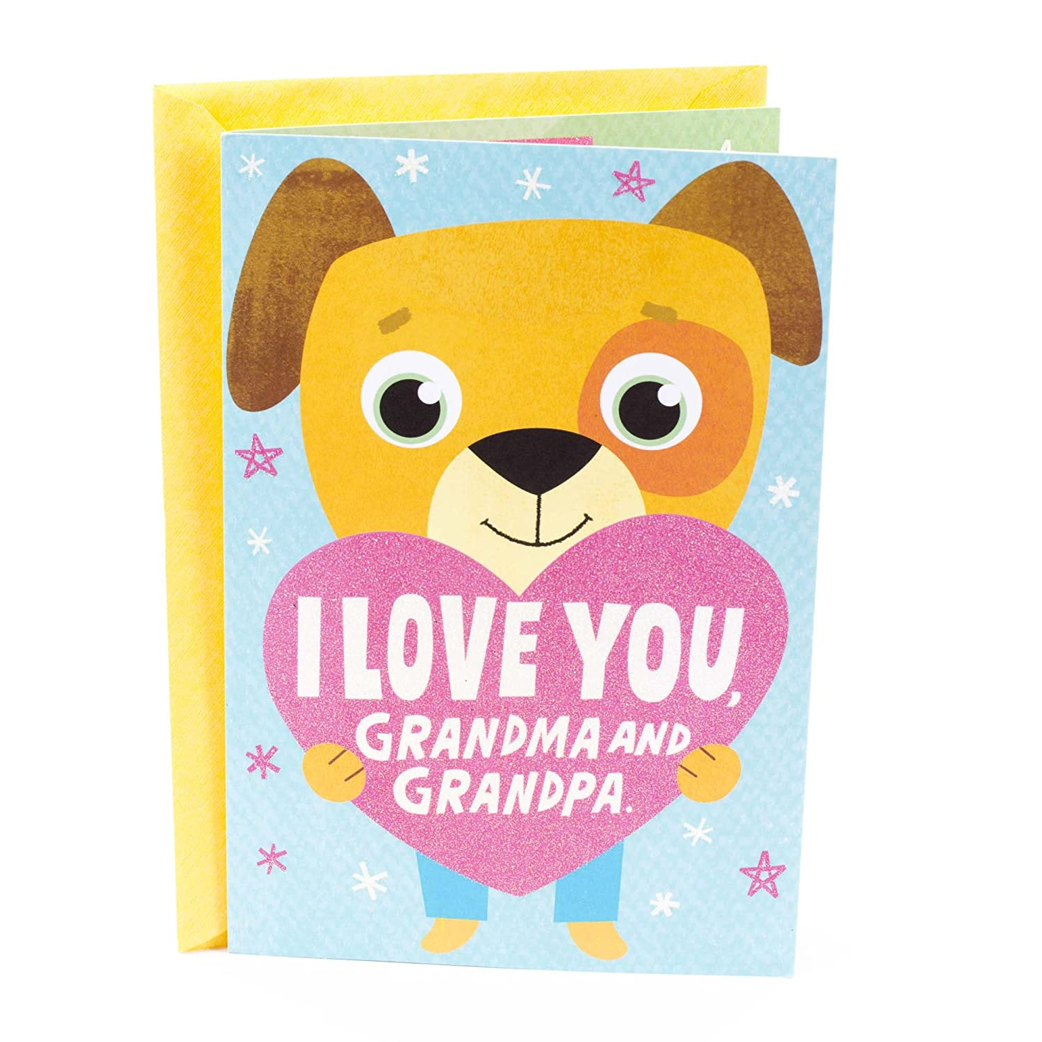 Amazon Hallmark Grandparents Day Greeting Card From Grandchild