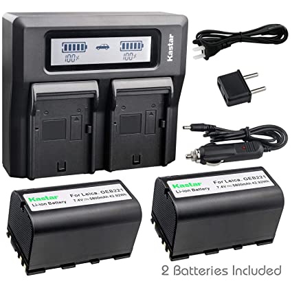 Amazon com : Kastar 2 Pack Battery and LCD Dual Fast Charger