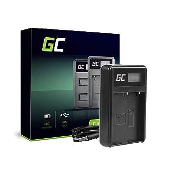 Green Cell® BCH-1 Cargador para Olympus BLH-1 Batería y OM-D E-M1 Mark II, Grip HLD-9 Cámaras (5W 8.4V 0.6A Negro)