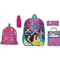 Disney Princess 5 Pc Set Backpack