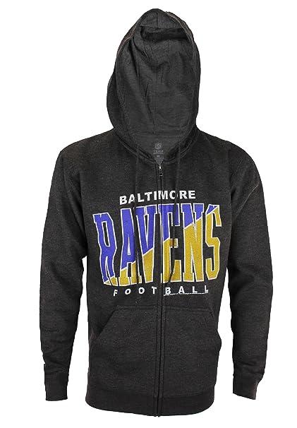 315610c49 Baltimore Ravens NFL Mens  quot Split Formation quot  Full Zip Fleece Hoodie