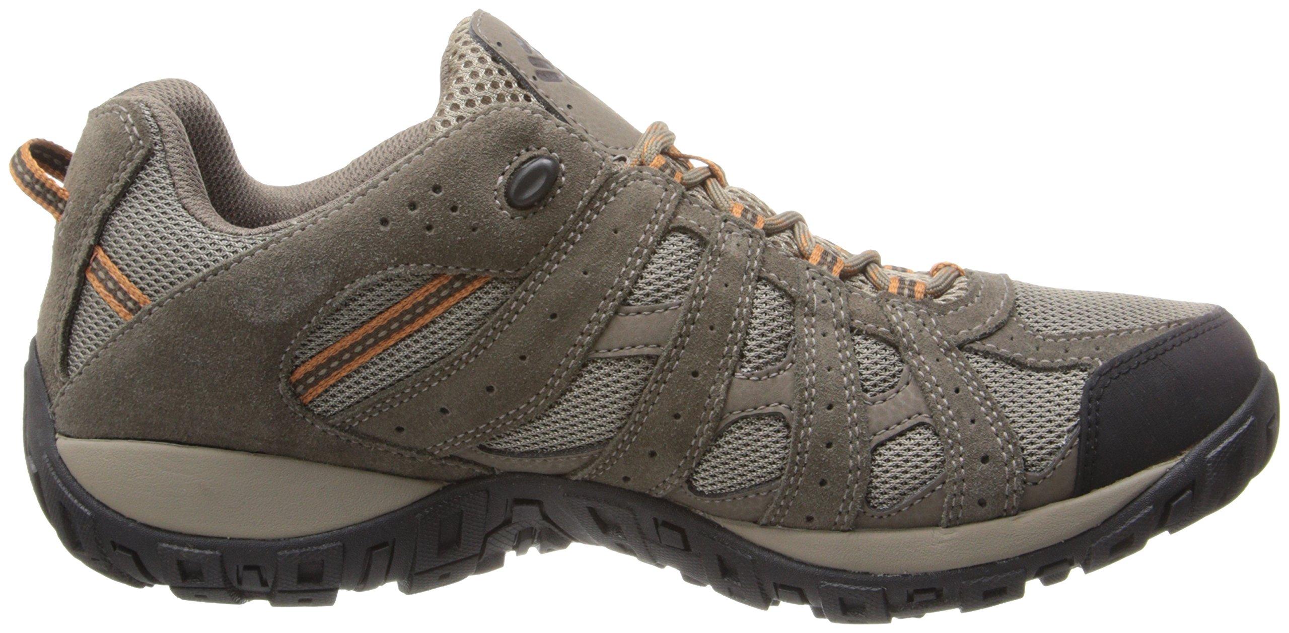 Columbia Men's Redmond Waterproof Hiking Shoe Pebble, Dark Ginger 7 D US by Columbia (Image #7)