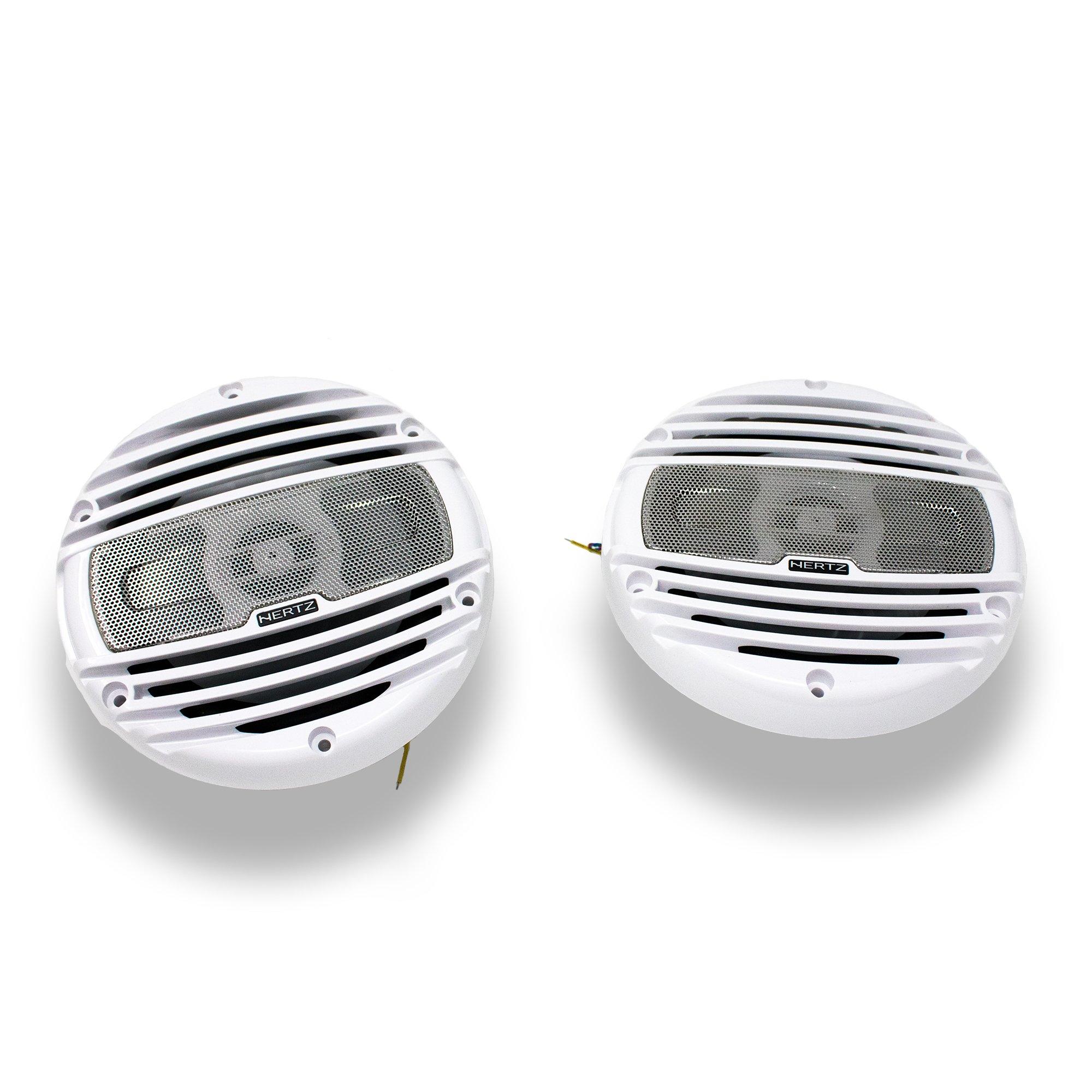 Hertz HMX-6.5LD 6.5'' 4 Ohm Marine Coaxial Speakers by Hertz Audio (Image #2)