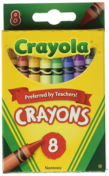 amazon com crayola bulk buy crayons 8 pkg 52 3008 12 pack toys