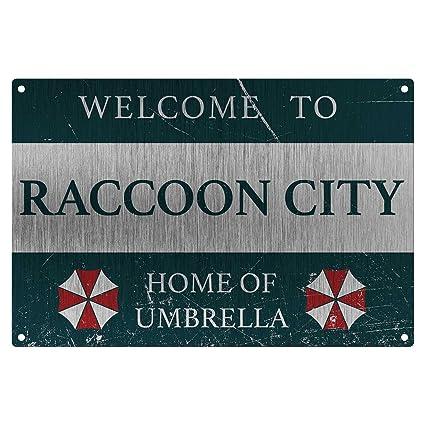 Resident Evil: Umbrella Corp película metálica