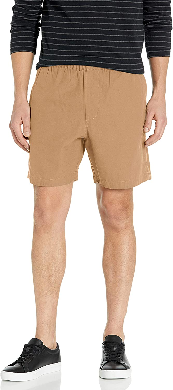 Obey Men's Elastic Waistband, Walkshort, Ideals Organic Easy Short