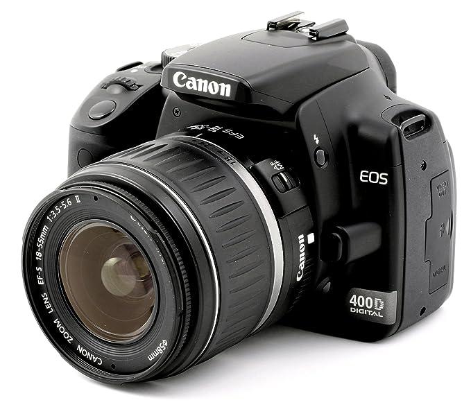 Canon EOS 400D - Cámara Réflex Digital 10 MP (Cuerpo): Amazon.es ...