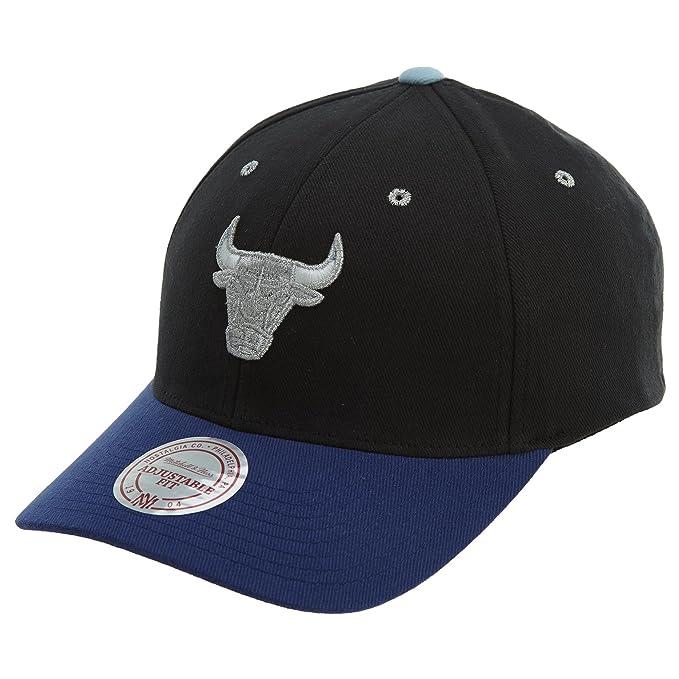 Chicago Bulls NBA Mitchell   Ness Flexfit 110 Low Pro Adjustable Snapback  Hat 14a4332a168e