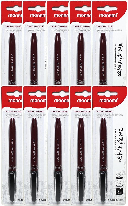 4Pcs calligraphy brush pen art craft supplies office school writing tooDDE