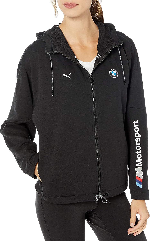 PUMA BMW Motorsport Black Hooded Sweat Jacket