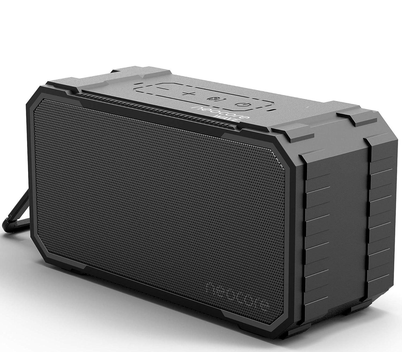 neocore Wave Altavoz port/átil para Smartphones Color Negro Tablets y Dispositivos MP3 10 W, Bluetooth, Recargable, AUX, 24 Horas Negro