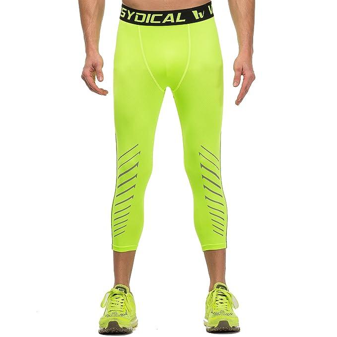 73479f7bee0f6 Willarde Men's Compression Capri Leggings Workout Running 3/4 Pants