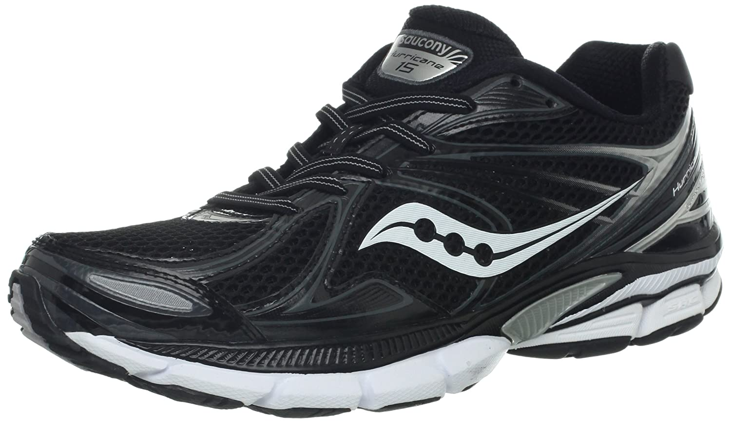 762f0a48 Saucony Men's Hurricane 15 Running Shoe,Black/White,12.5 M US: Amazon.ca:  Shoes & Handbags