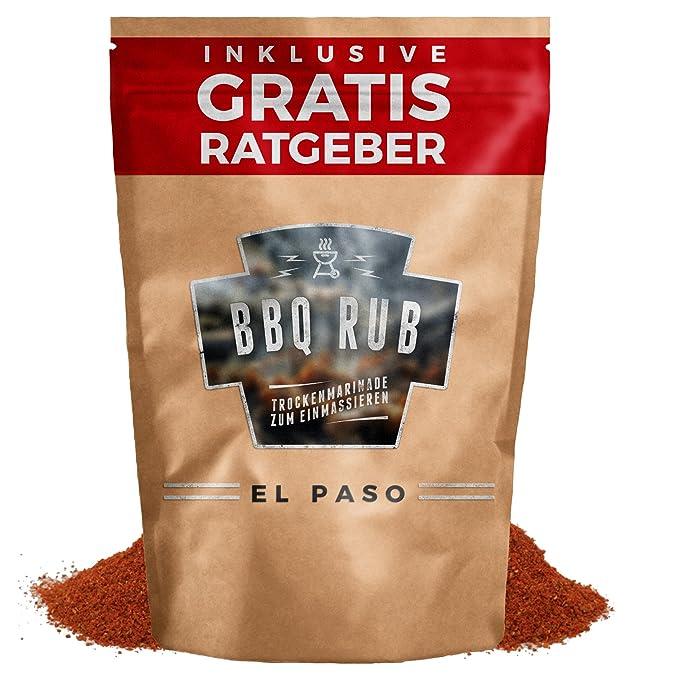 BBQ Rub El Paso 80g | Marinada en seco para carne de cerdo y costillas de