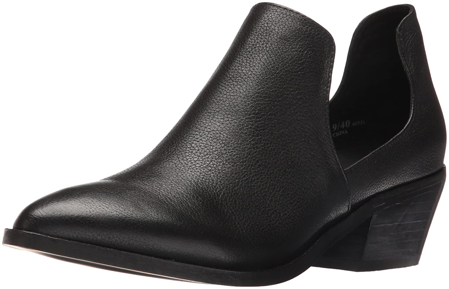 Chinese Laundry Women's Focus Ankle Bootie B01JK45QFU 9 B(M) US|Black Leather