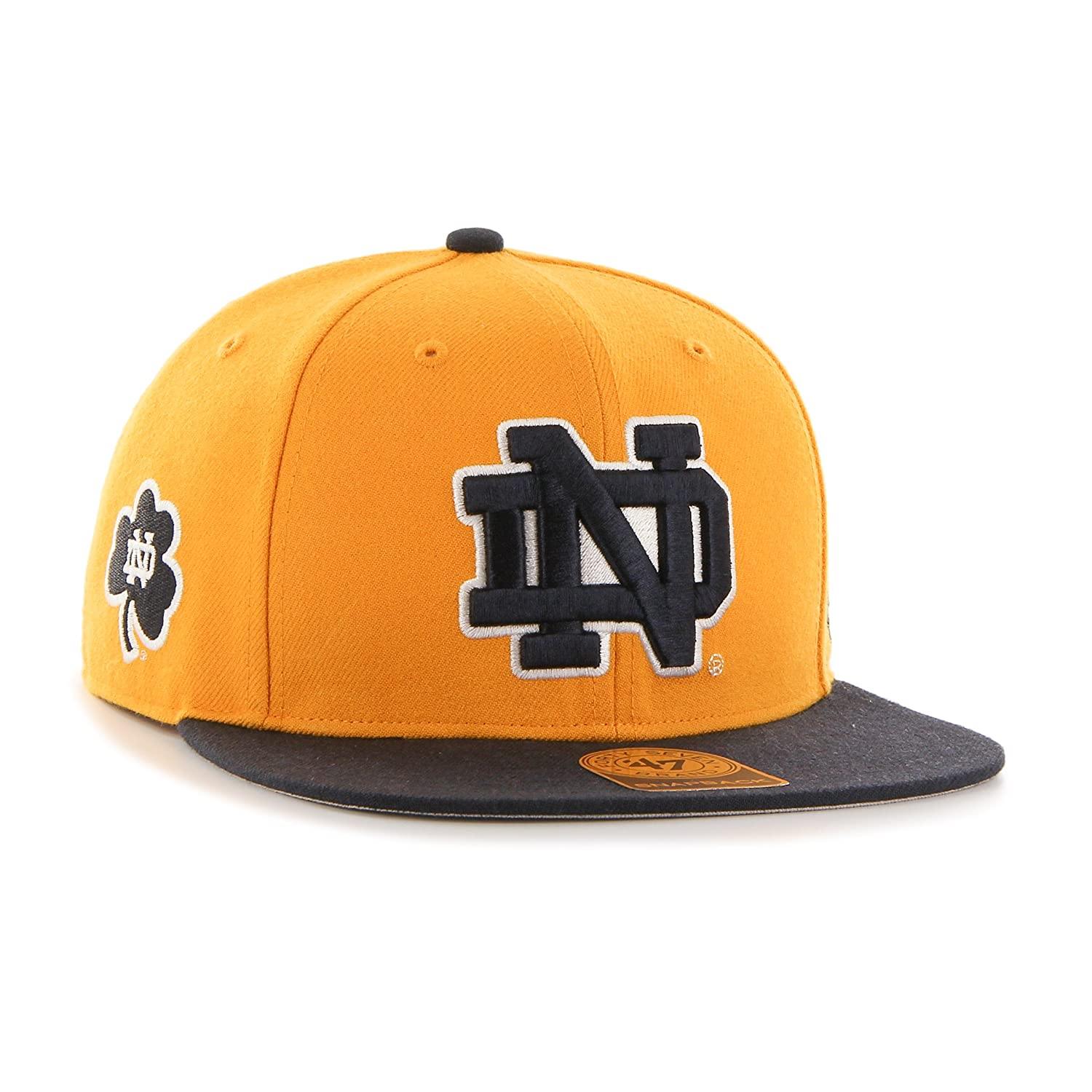 33d4773df411f Amazon.com    47 NCAA Notre Dame Fighting Irish Sure Shot Two Tone Captain  Hat