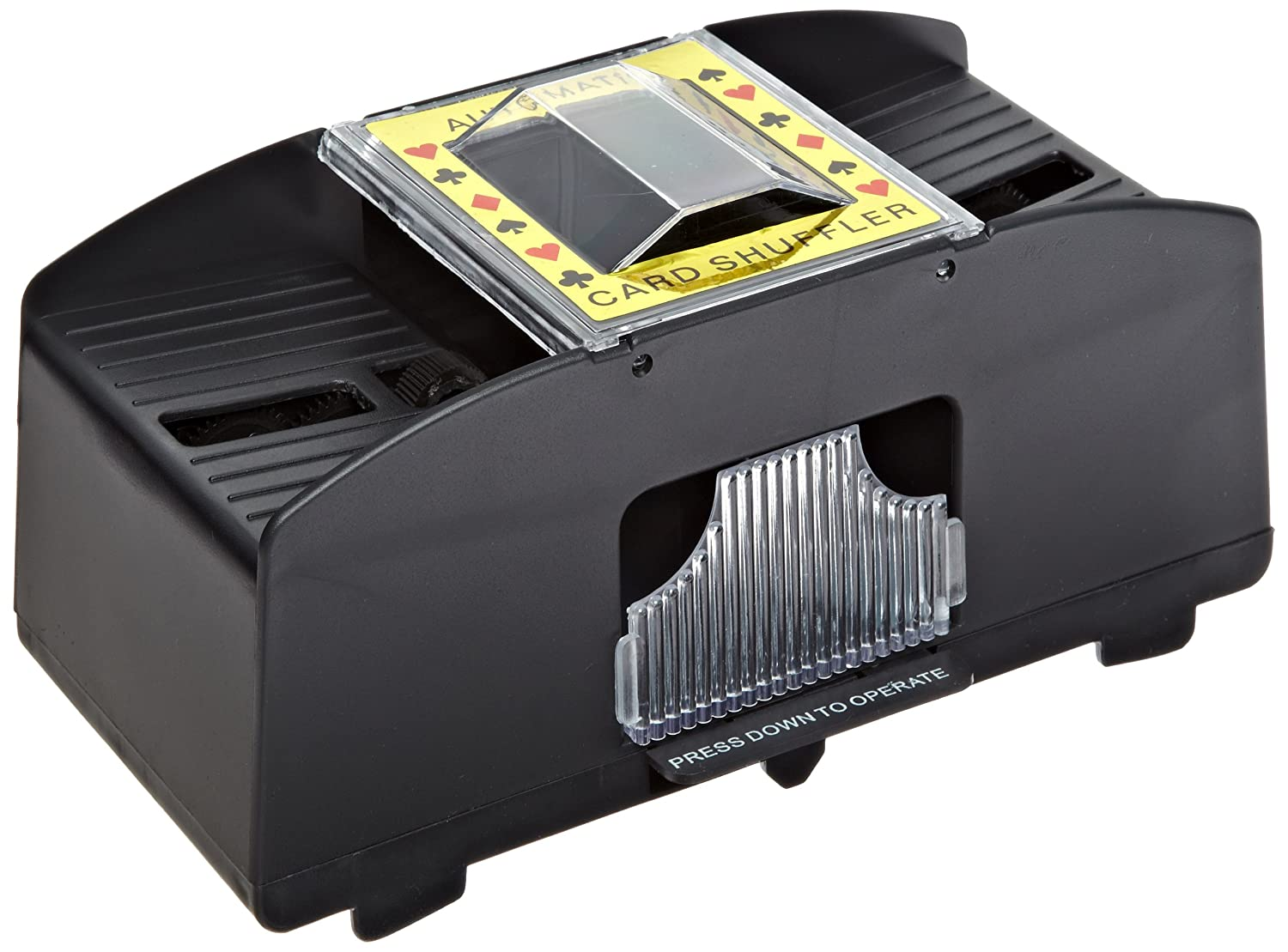Ableware 2-Deck Battery Powered Automatic Card Shuffler (712570000) MADJI