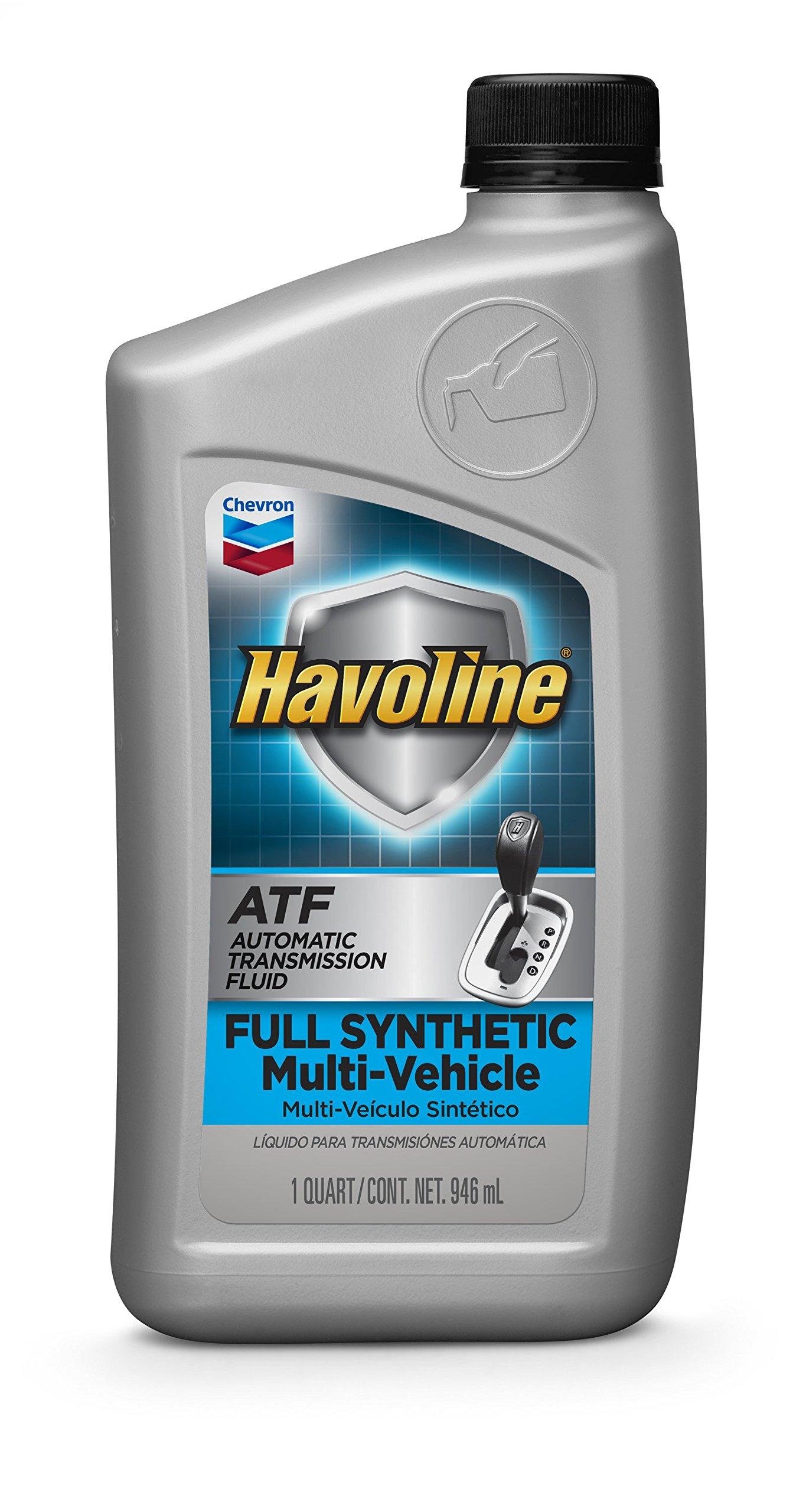 HAVOLINE 226536481-12pk Full Synthetic Multi-Vehicle ATF-1 Quart (Pack of 12), 384. Fluid_Ounces by HAVOLINE