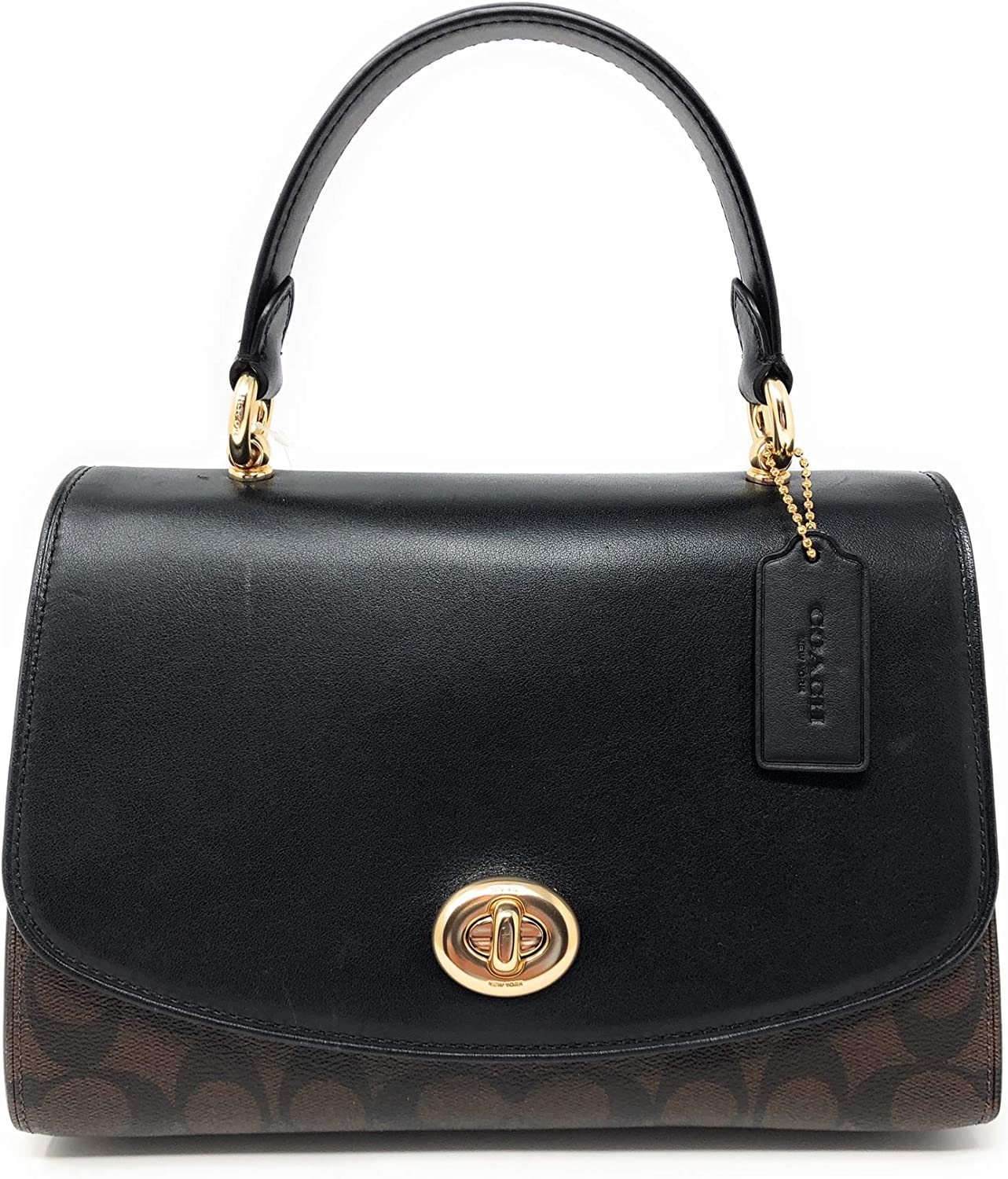 COACH Signature Tilly Top-Handle Satchel