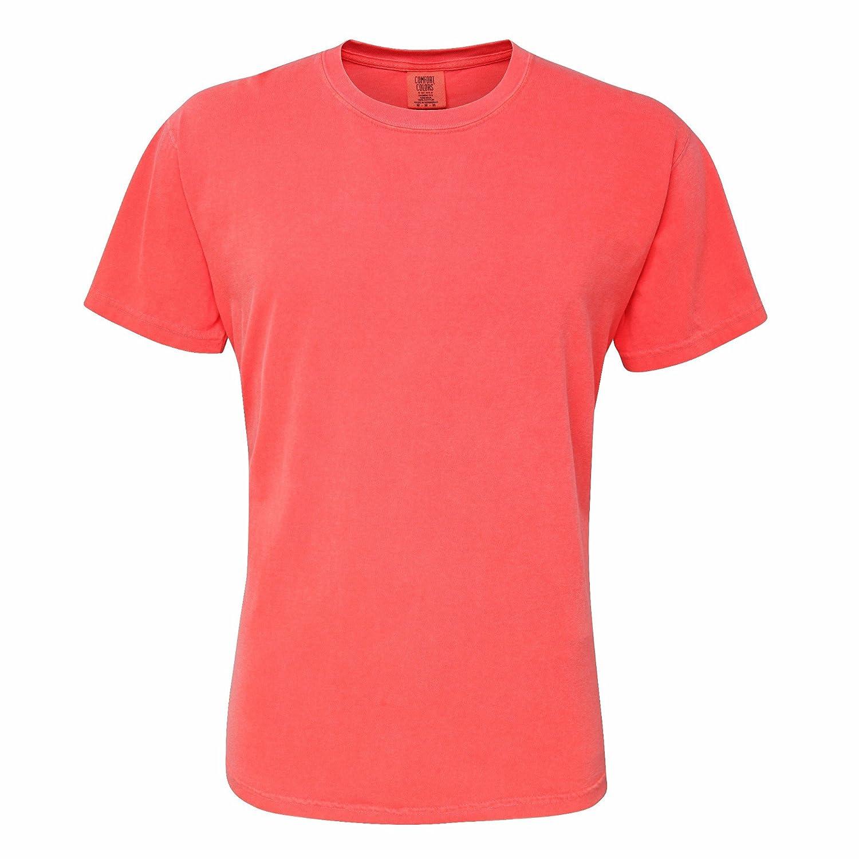 Comfort Colours Adults Unisex Short Sleeve T-Shirt XL Mustard