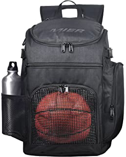 b920451c79 MIER Basketball Backpack Large Sports Bag for Men Women with Laptop  Compartment