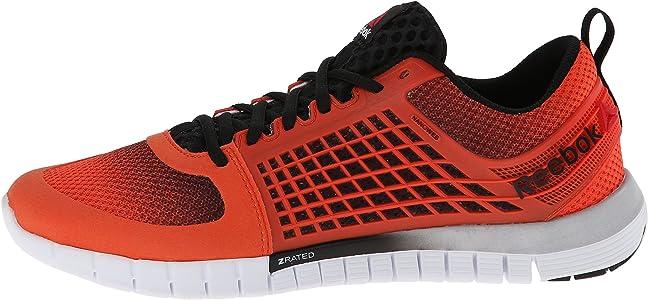 Reebok ZQuick 2.0 Tenis para Correr para Hombre, Naranja (Flux Orange/Black/White), 40 EU: Amazon.es: Zapatos y complementos