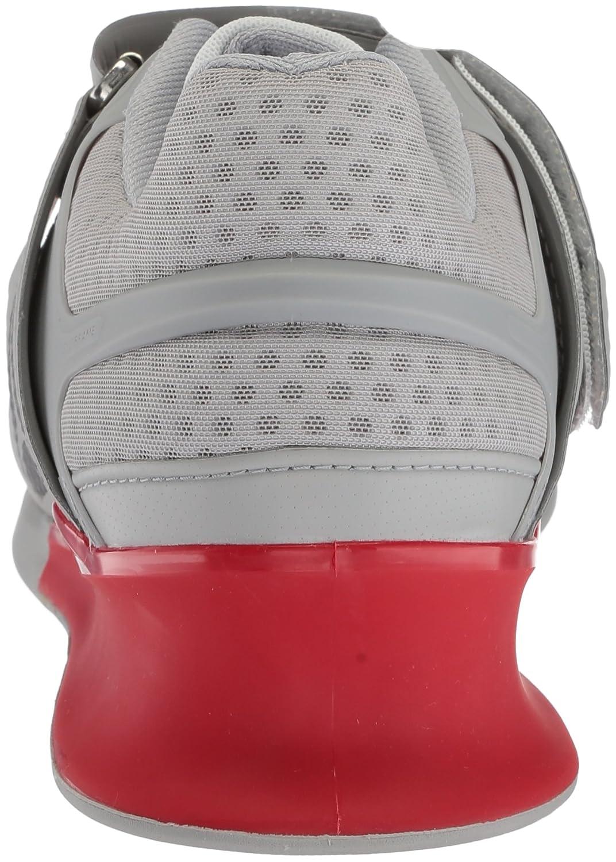 685d79ee636 Reebok - Legacy Lifter Sneaker para hombre Blanco   Gris Oscuro   Rojo  Primigenio