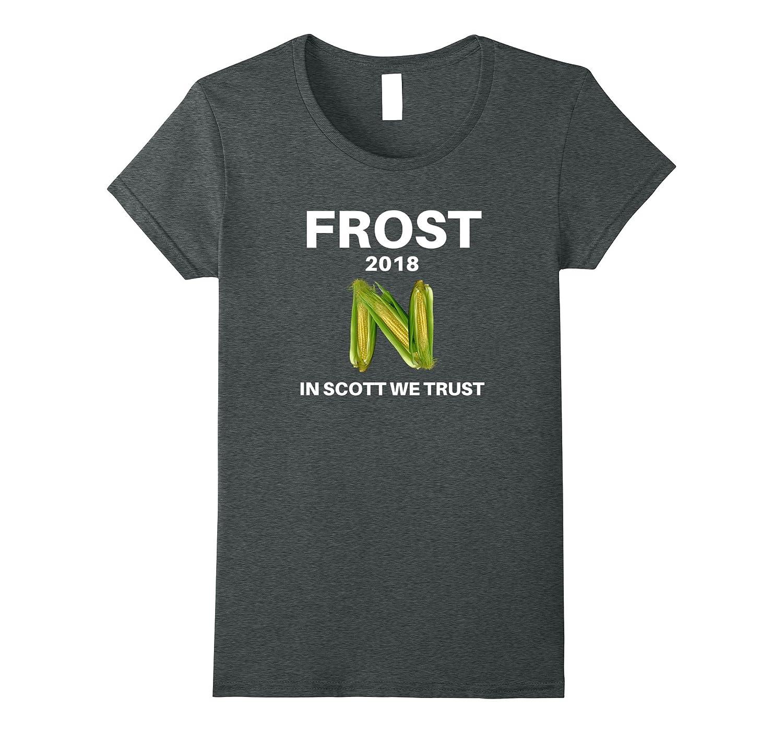 Frost Football Nebraska T shirt Cranberry-Tovacu