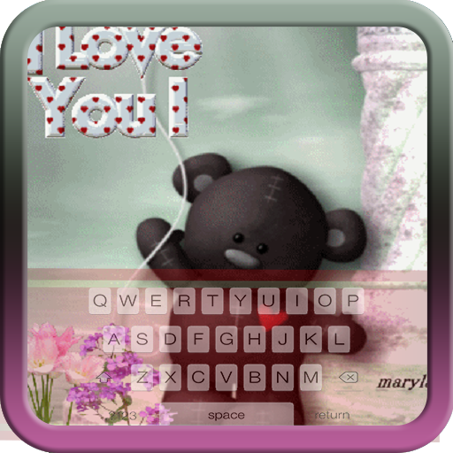 Free Teddy Bear Wallpaper - Teddy Bear Keyboard Theme Free Themes Backgrounds Wallpapers Icons Decor Customization