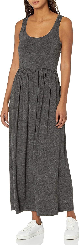 Amazon Essentials Women's Tank Waisted Maxi Dress