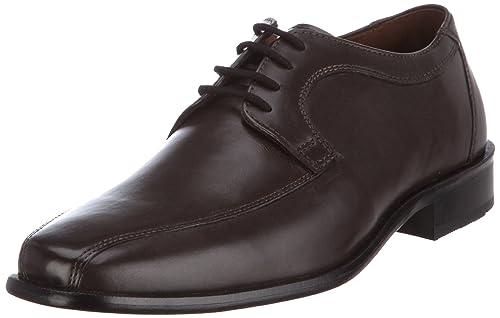 Manz Coll 134005-02 - Zapatos clásicos de cuero para hombre, color marrón, talla 42.5