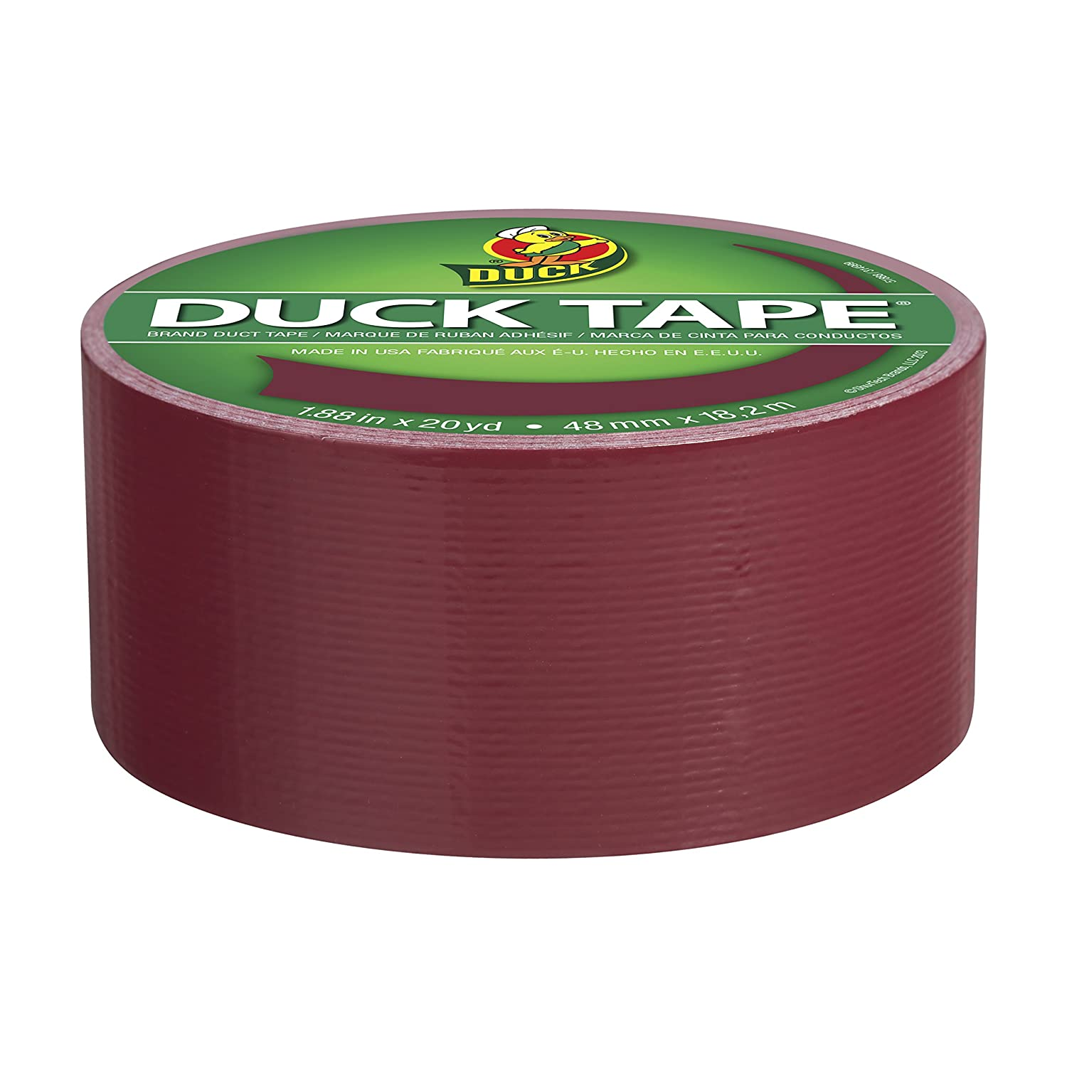 Duck 1265015 Colored Duct Tape 1.88 X 20yds 3 Core White To Win Warm Praise From Customers Business & Industrial Glues, Epoxies & Cements