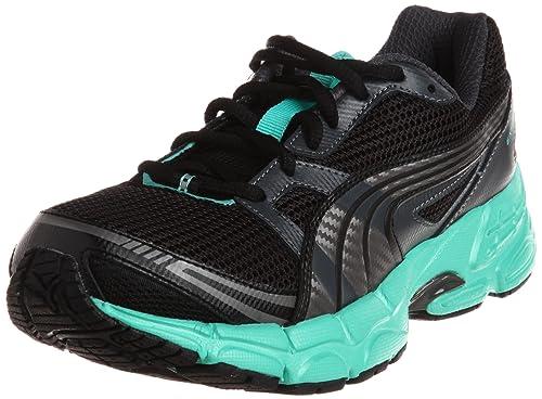 Puma Exsis 3 Zapatillas de deporte corrientes de las mujeres - Zapatos - Negro-BLACK-37.5 aLoBLnit