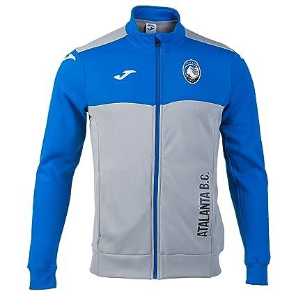 Joma - Sudadera de entrenamiento del club de fútbol italiano Atalanta, temporada 2017 -18