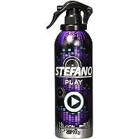 Stefano Desodorante Play en Aerosol para Caballero, 113 g (la presentación puede variar)