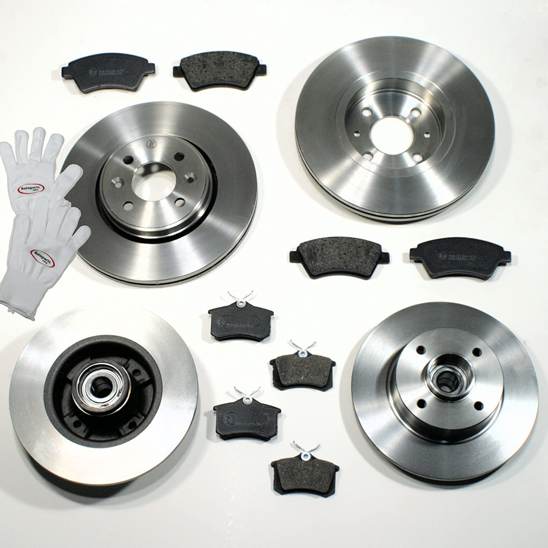 hinten Bremsbel/äge f/ür vorne Autoparts-Online Set 60009759 Bremsscheiben//Bremsen
