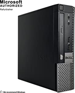 Dell Optiplex 9020 Ultra Small Desktop Computer PC (Intel Core i5-4570S, 16GB Ram, 256GB Solid State SSD, WiFi, Bluetooth, HDMI Win 10 Pro (Renewed)