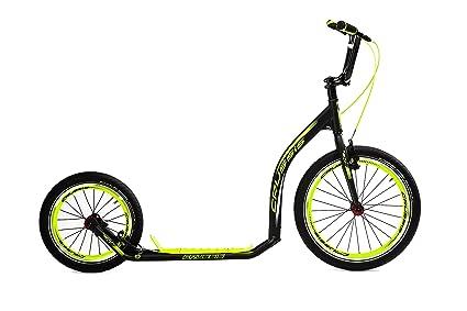 Crussis Patinete para Adultos, Kick Bike, Fitness Bike ...