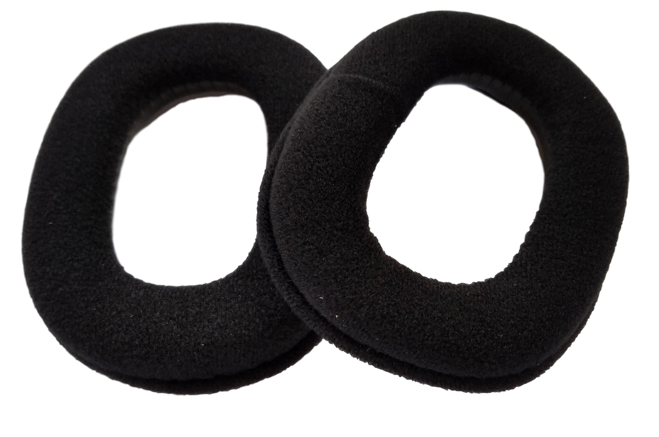 Replacement Ear Pads / Ear Cushions (2 Pack / 1 Pair) for Astro A40 Gaming Headset by ienza®