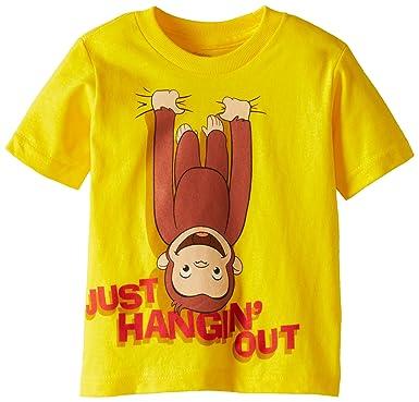 eddbdb0d Curious George Little Boys' Toddler Short Sleeve T-Shirt, Banana Yellow, ...